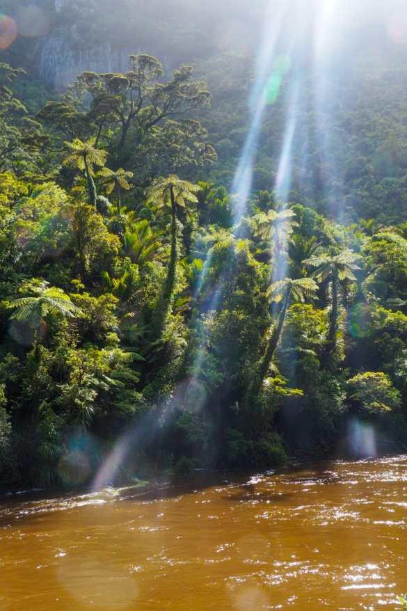 Pororari River - 3 tygodnie w Nowej Zelandii - plan trasy