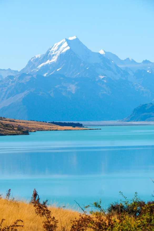 Pukaki - 3 tygodnie w Nowej Zelandii - plan trasy