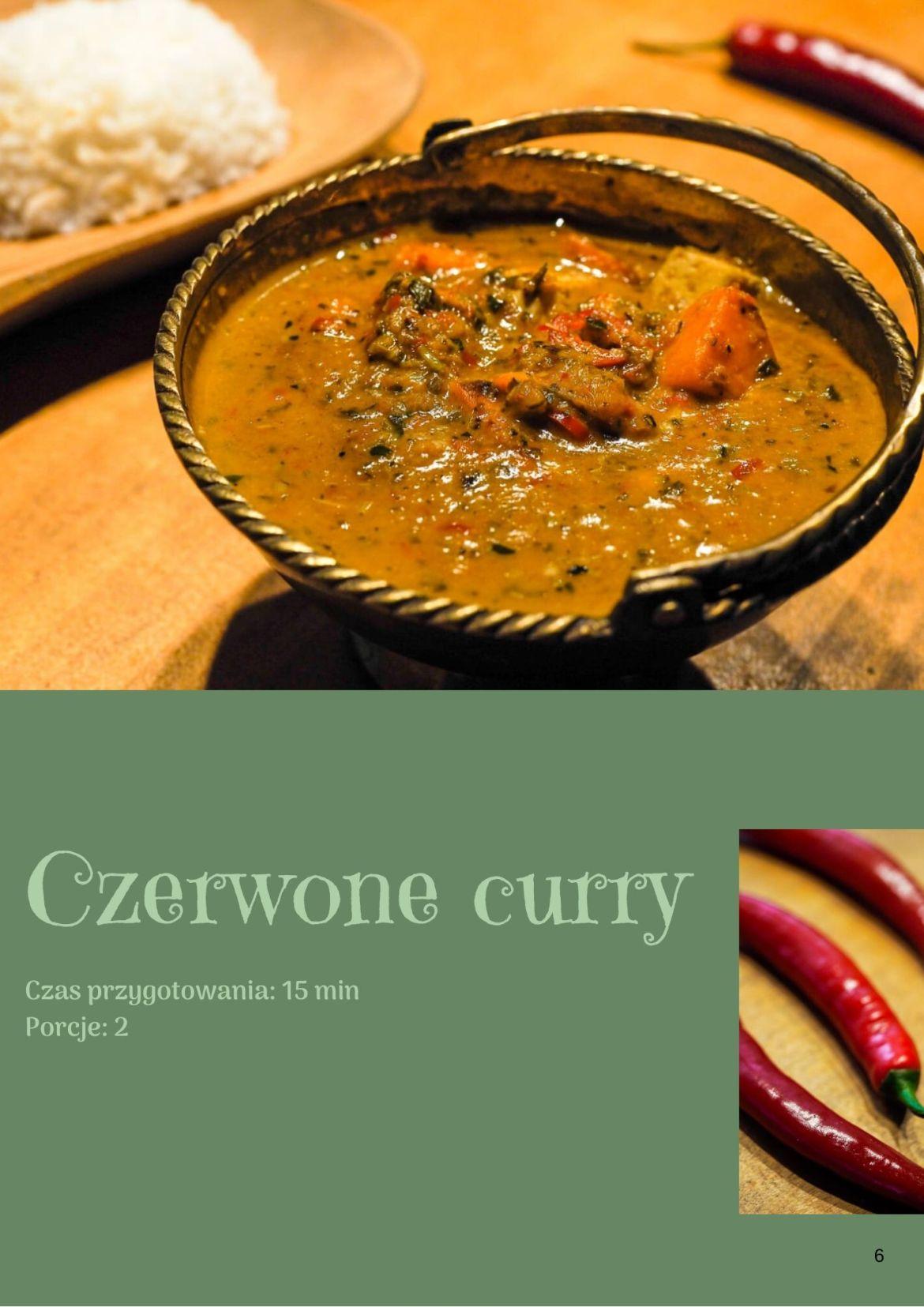 CZERWONE CURRY 1 - Tajska kuchnia w pigułce e-book