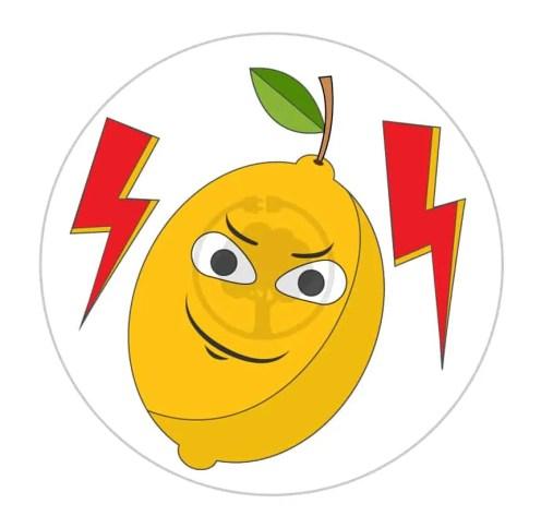 1. Oto Pan Cytryna! Należy do elektrycznych wojowników, którzy pomagają wytworzyć naturalny prąd.