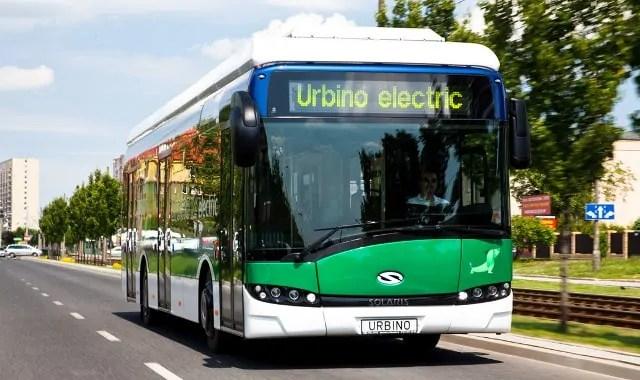 Autobusy Solaris w Wieliczce
