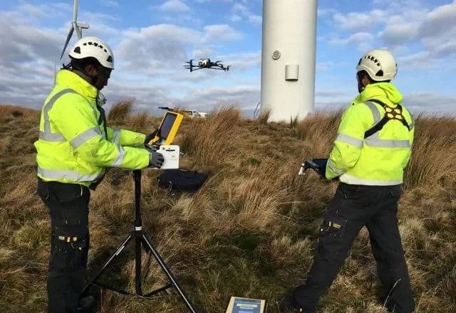 UK drone success for Cyberhawk image