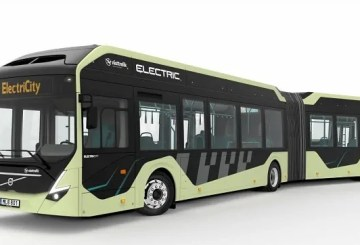 Volvo ElectriCity articulated bus
