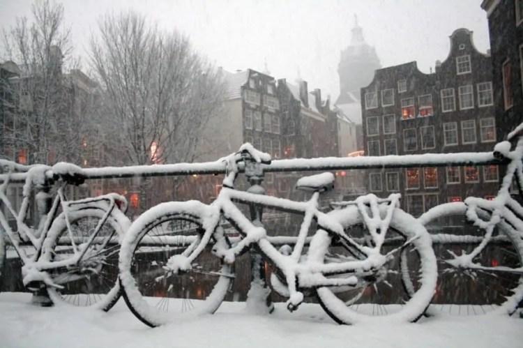 Amsterdam, winter, Amsterdam winter