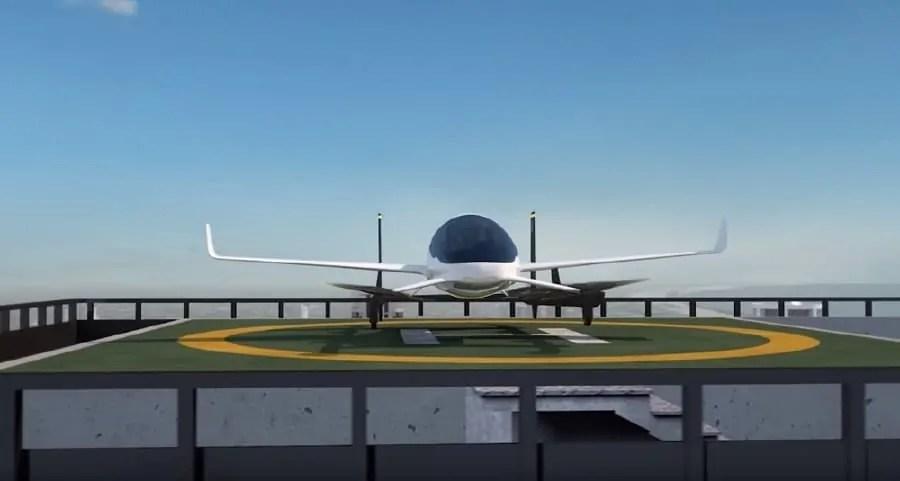 Uber zaprezentował prototyp latającej taksówki