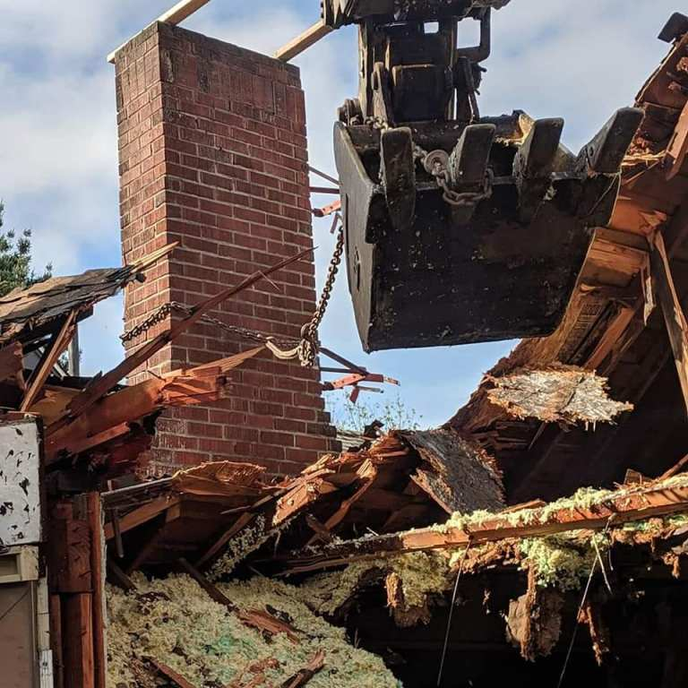 Demolition of Seattle Home