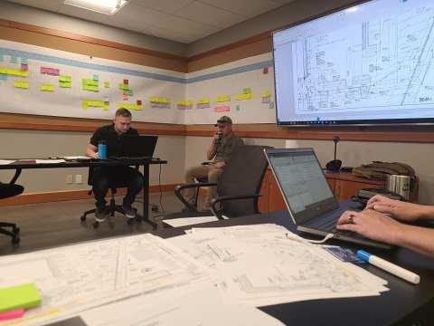 contractors in room construction planning