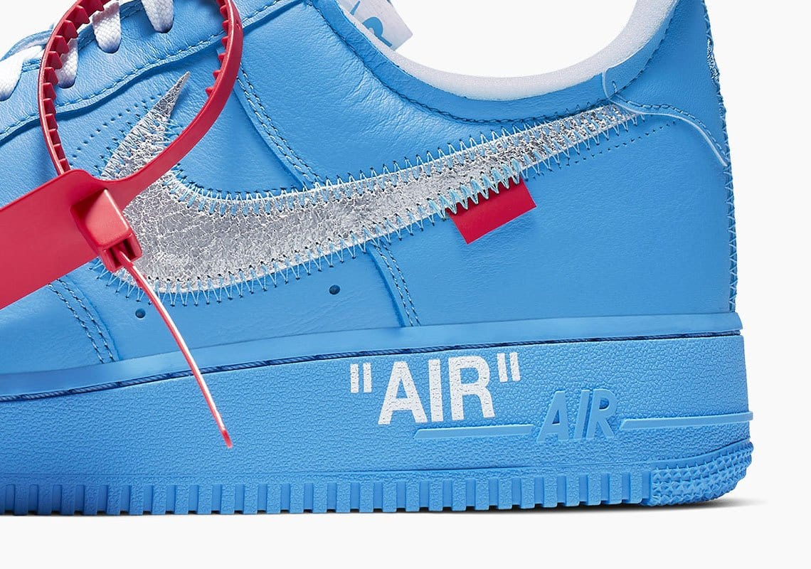 Off White x Nike Air Force 1 MCA releasing at ComplexCon