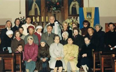Wspomnienie ośp.ojcu Edmundzie Wrzesińskim OCD