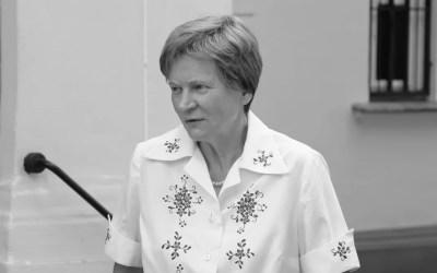 DoPana odeszła Maria Biernacka