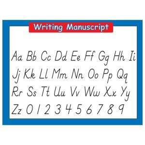 Writing Manuscript Elementary Learning Poster