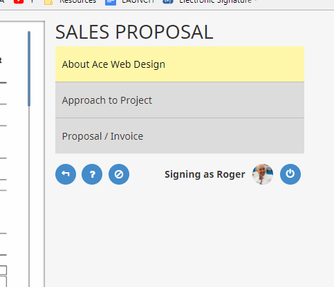 sales proposal software