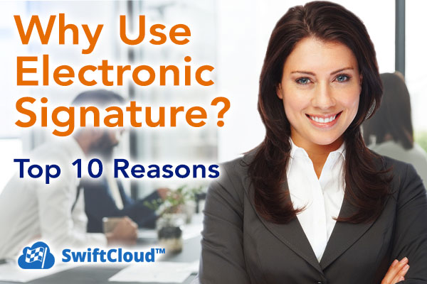 Why use electronic signature