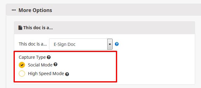 High Volume e-Signature