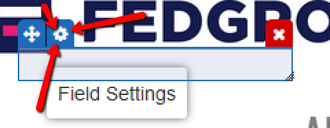 esign PDF field settings