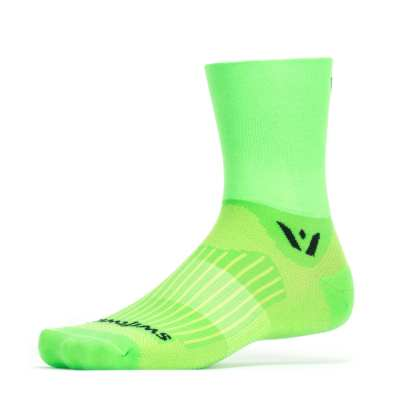 Swiftwick Aspire Four Green Sock