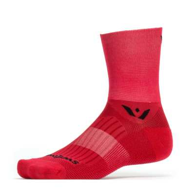 Swiftwick Aspire Four Red Sock