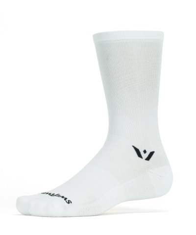 Swiftwick Aspire Seven White Sock