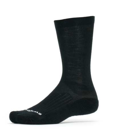 Swiftwick Pursuit Merino Seven Black Sock