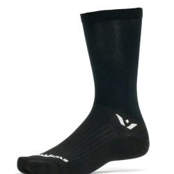 Swiftwick Aspire Seven Black Sock