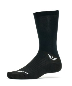 Swiftwick Aspire Seven Black Sock