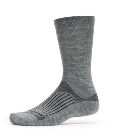 Swiftwick Pursuit Merino Seven Heather Grey Sock