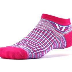 Swiftwick Aspire Zero Stripe Pink Purple Sock