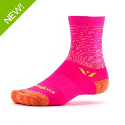 Swiftwick Vision Five Dash Pink Sock