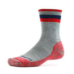 Swiftwick Pursuit Hike Six Heather Red Sock - Light Cushion