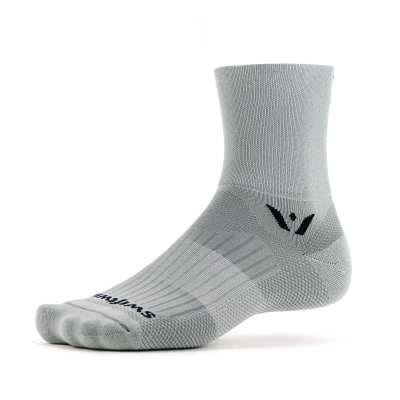 Swiftwick Aspire Four Pewter Sock