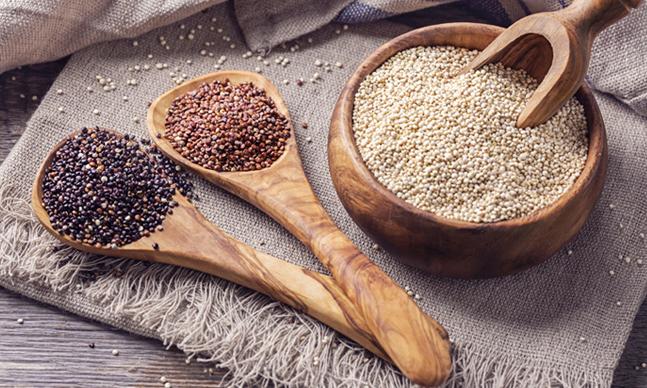 Quinoa com Legumes Salteados