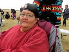 Joy Braun, North Dakota, USA (Photo: AP/James MacPherson)