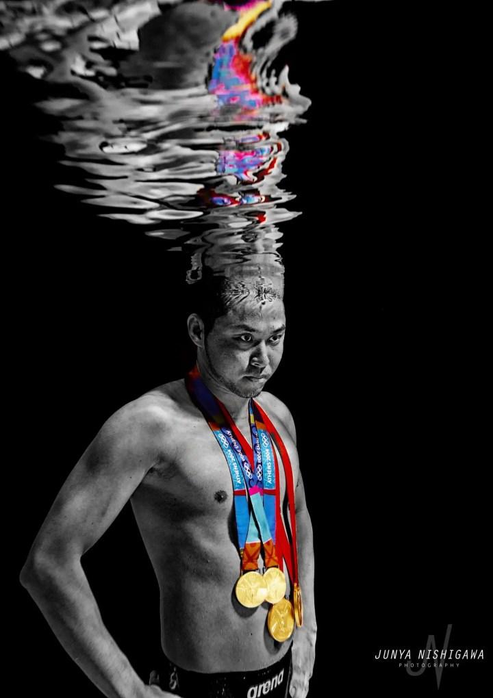 北島康介選手の水中写真
