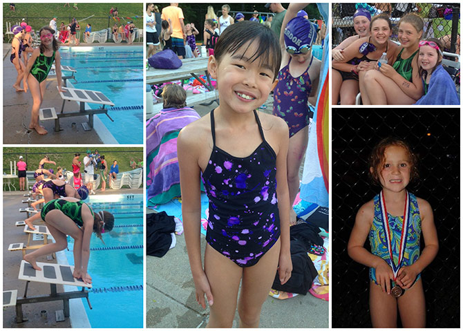 Summer 2013 Swim Meets