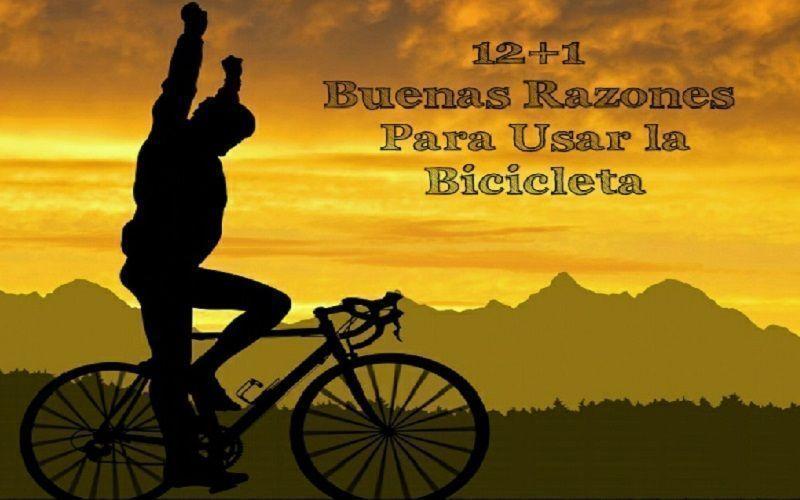 Razones para usar bicicleta