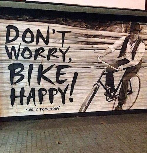 Dont worry bike happy