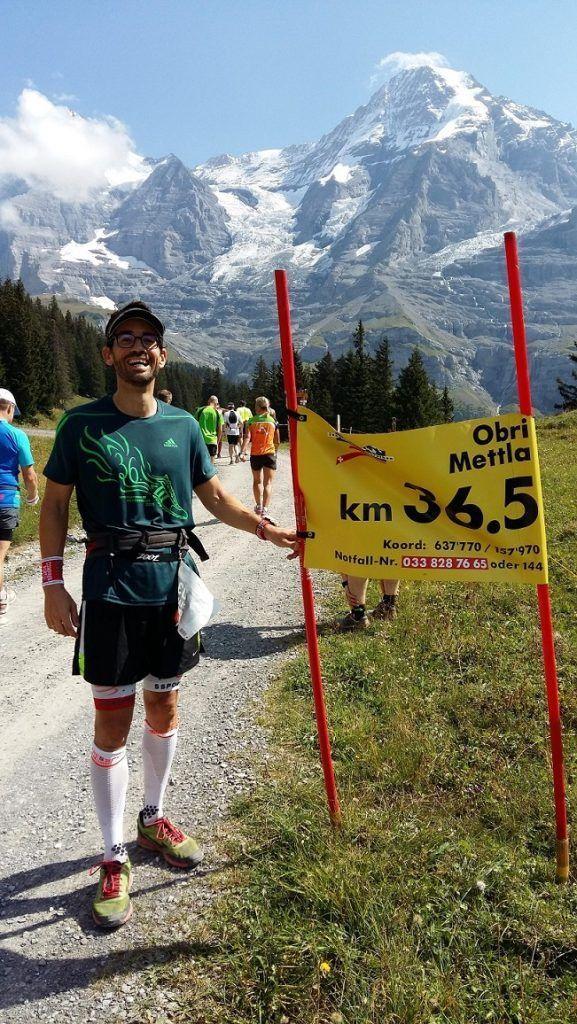 Jungfrau km 36