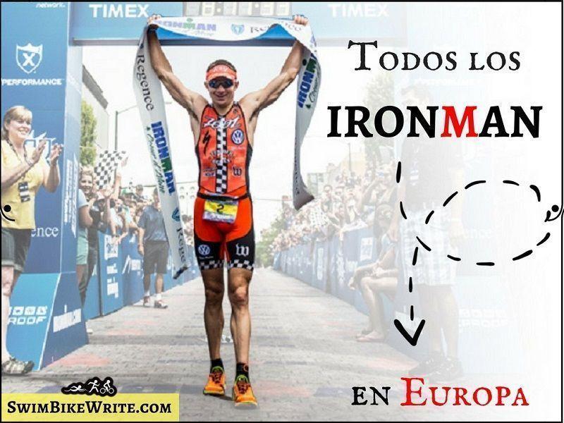 Calendario Pruebas Ironman 2018