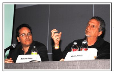 Steven Swimmer, Left; Richard Gibs, right.