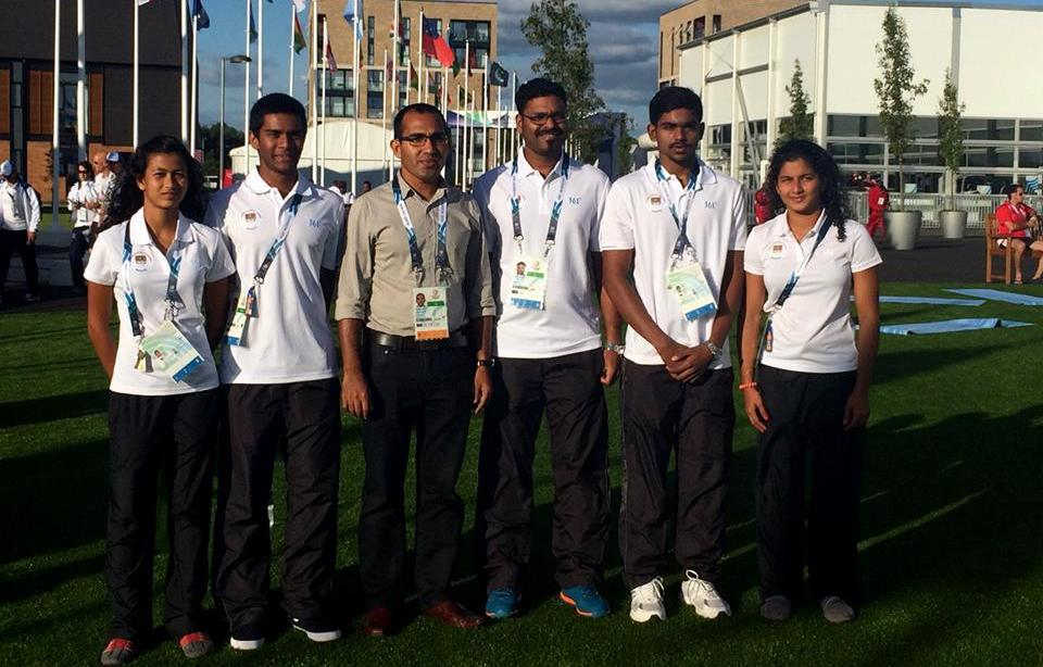Commonwealth Games - With Minister 2014