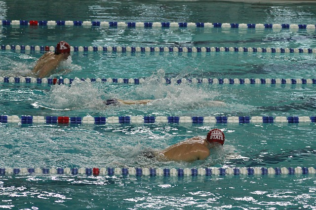 Swim Drill – Breaststroke Under Lane Lines