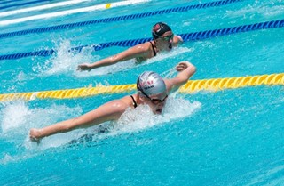 Swimming Game – Fly and Back