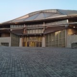 千駄ヶ谷にある東京体育館のメインアリーナ