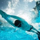 フィンスイミングの50m世界記録