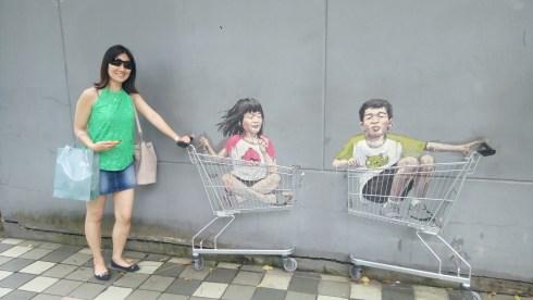 not window but wall-shopping