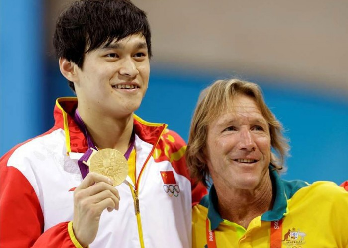 Sun Yang and Denis Cotterell