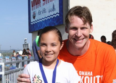 Josh Davis VIVA SWIM For Life learn-to-swim program