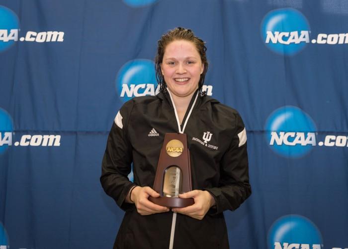 2016.03.19 2016 Womens NCAA Swimming Championships_Indiana Kennedy Goss