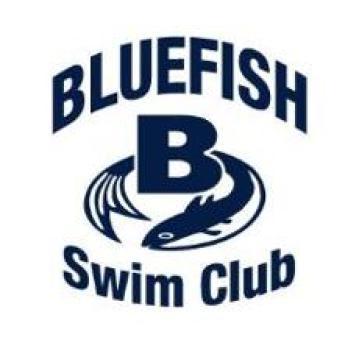 bluefish swim club team logo