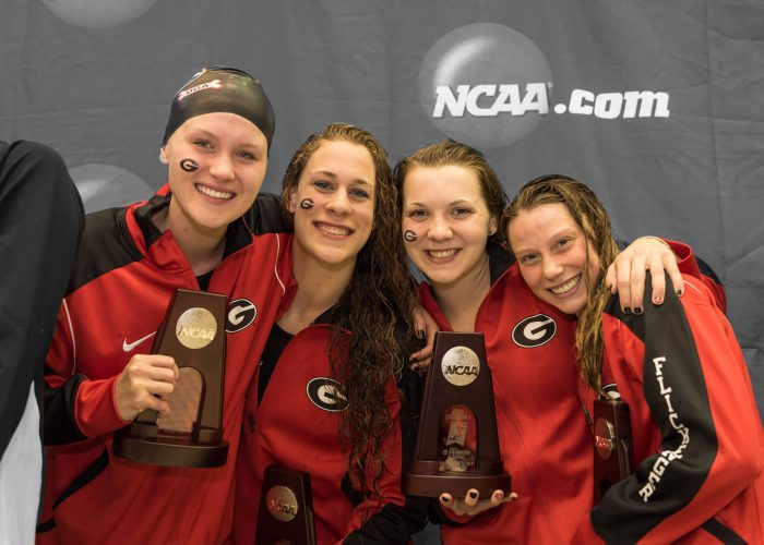 georgia-relay-ncaa-championships swimmer